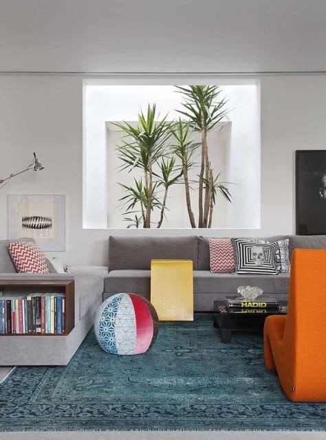 decoração sala sofá cinza escuro 70 tapetes para sala de estar e tv imperd 237 veis