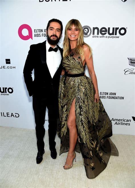 Heidi Klum Elton John Aids Foundation Oscar Party