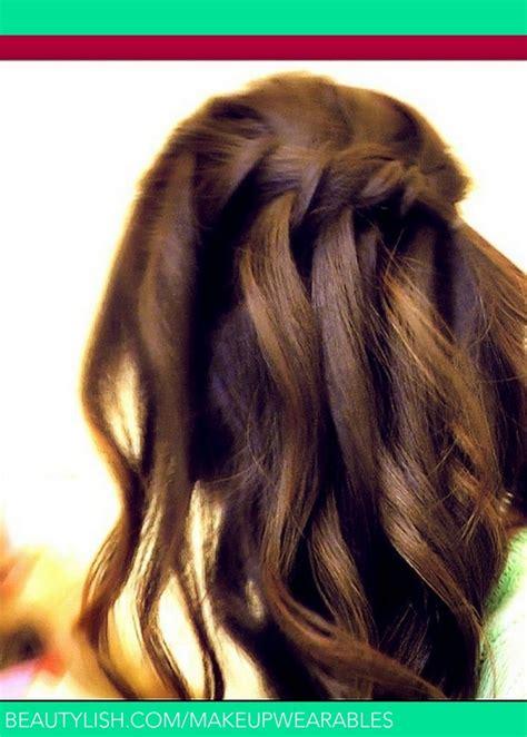 waterfall fishtail french braid   hair tutorial