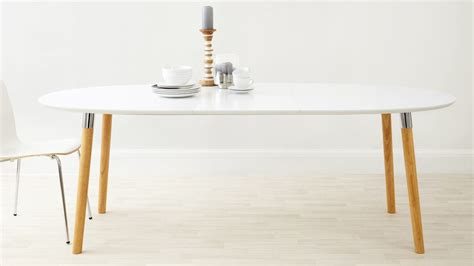 modern oval coffee tables matt white extending dining table oak chrome legs uk