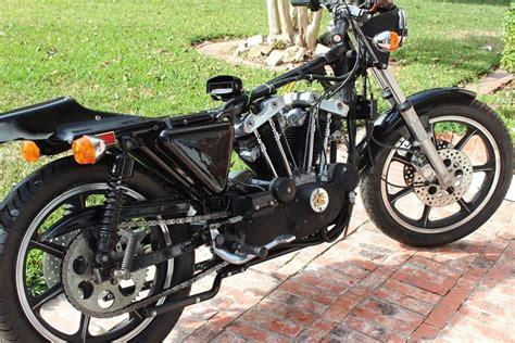 Harley Davidson Cafe Racer For Sale by 1977 Harley Davidson Sportster Xlcr Cafe Racer Unrestored