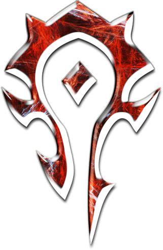 world  warcraft logo horde symbol awesome world