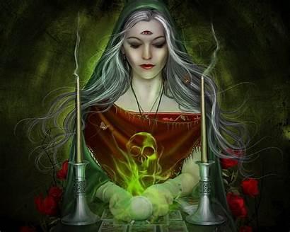 Divinum Bellator Witch Magic Evil Fantasy Wallpapers