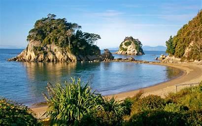 Beach Kaiteriteri Zealand Island South Guide Reid