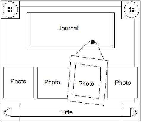 tiny doorman template 17 best images about scrapbook sketches on pinterest