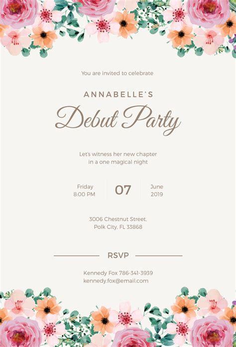 formal invitation template   sample
