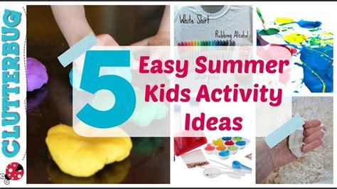 5 Easy Summer Activity Ideas For Kids  Dollar Tree Summer