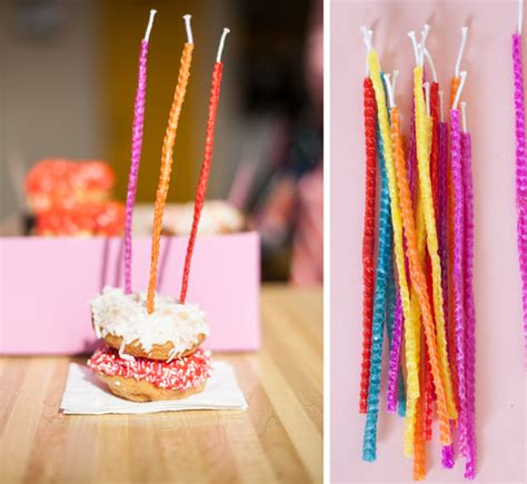 birthday beeswax candles  subtle revelry