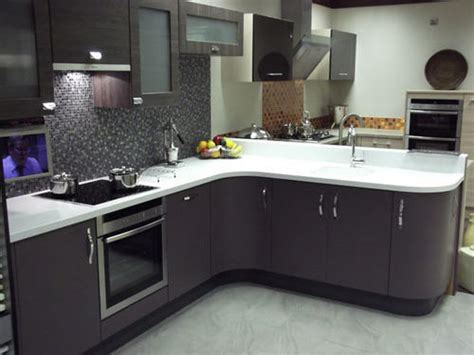 top corian corian top modular kitchen at rs 600 square