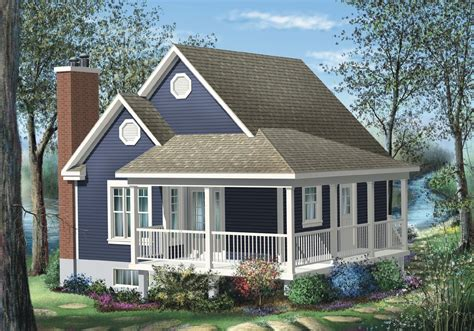 Two Bedroom Cottage House Plans by Simple One Bedroom Cottage 80555pm Architectural