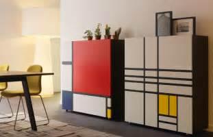 Black Lacquer Cabinets by Homage To Mondrian Shiro Kuramata Cappellini