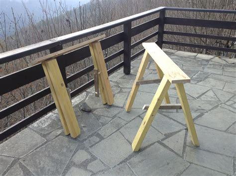comment faire des dessus de chaise comment fabriquer des tréteaux pliants pour ceux qui n 39 ont pas de place