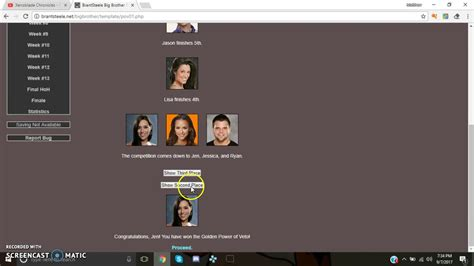 How to do an Interactive Big Brother Sim on Brantsteele ...