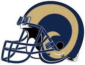 Rams NFL Helmet Logos Clip Art
