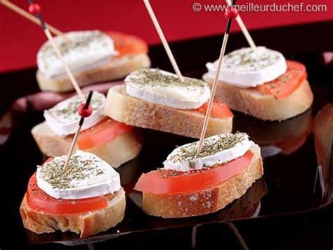 tapas au fromage de chevre  tomate avec images