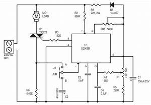 Wiring Diagram  28 Single Phase Ac Motor Speed Control