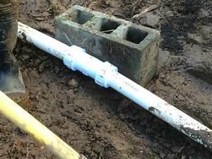 Repairing A Broken Septic Pipe