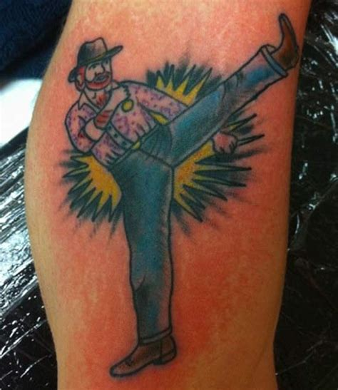 chuck norris tattoo bruce lee would ve been 76 years old this week here s the