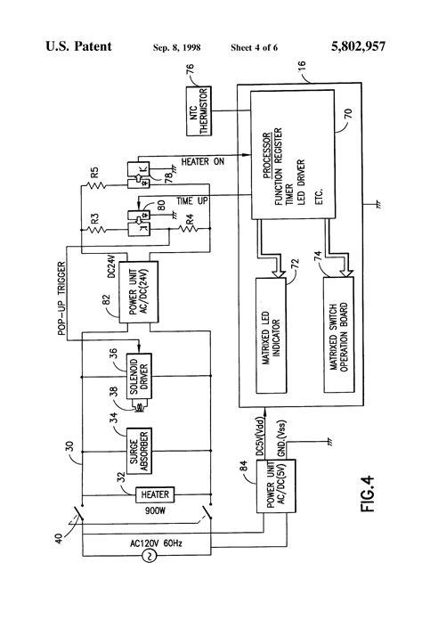 patent  toaster shade control display google