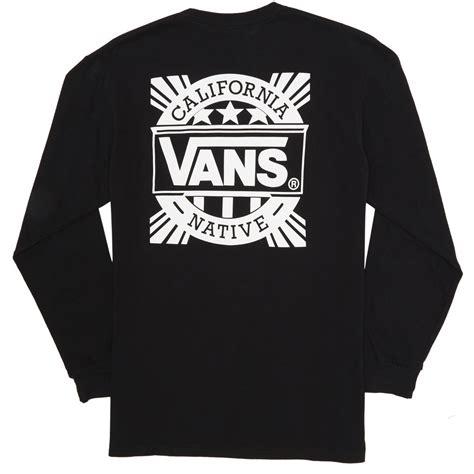 vans style   shirt black