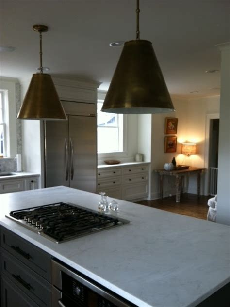 lighting brass pendants from visual comfort may