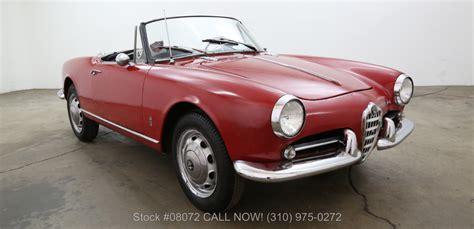 Alfa Romeo 1960 by 1960 Alfa Romeo Giulietta Beverly Car Club