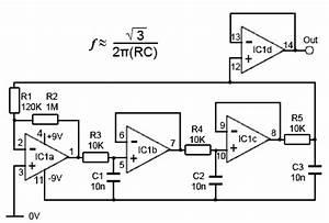 rc oscillator circuit rc free engine image for user With oscillator using transistor bjt circuit working wein bridge oscillator
