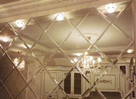 12x12 antique mirror tiles ideas for the formation of a wall with mirror wall tiles