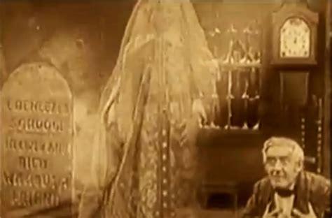 christmas carol  film produced  thomas edison