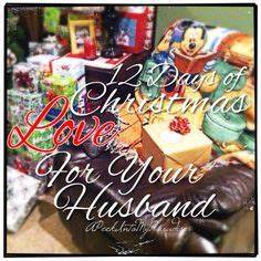 The Twelve Days of Christmas Love Gifts for My Husband