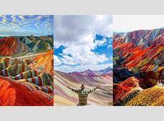 Those Awesome Rainbow Mountains!