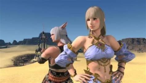 final fantasy xiv patch  adds sexy hairstyles