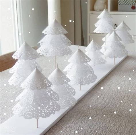 doily paper christmas tree video tutorial the whoot