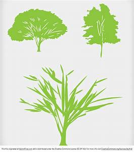 Free Green Tree Vector Icons
