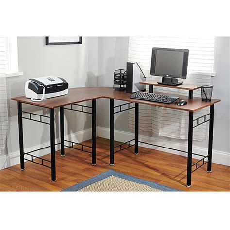 wrap computer desk multiple colors walmart com
