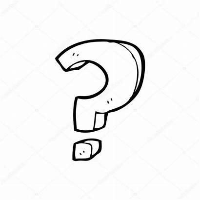 Question Cartoon Mark Illustration Vector Depositphotos Background