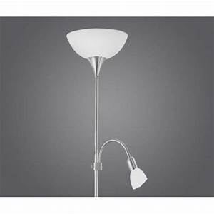 eglo eglo 82842 up2 2 light traditional floor lamp With white plastic floor lamp shade