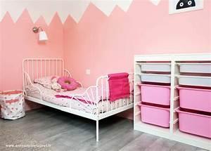 Deco Chambre Fille Princesse : d co chambre de petite fille baillet en france avant apr s ~ Teatrodelosmanantiales.com Idées de Décoration
