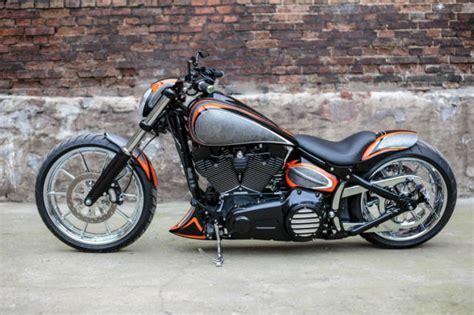 Harley Davidson Breakout Modification by 2013 Harley Davidson Fxsb Softail Breakout Custom