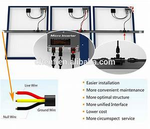 High Quality Solar Grid Tie Enphase Micro Inverter 100w