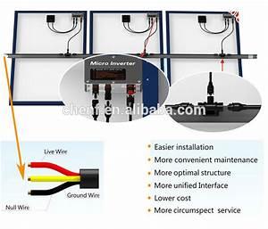 300w Solar Micro Inverter Grid Tie Inverter Schematic
