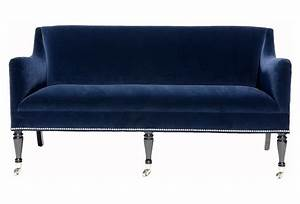 Barclay butera ridgecrest loveseat regular 3640 on for Blue sofa