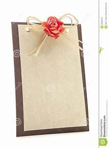 Blank Business Card Stock Invitation Card Stock Photos Image 26404273