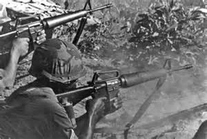 Vietnam War M16 Rifle
