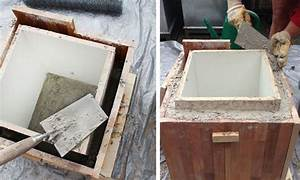 Pflanzkübel Beton Selber Machen : blumentopf aus beton selber machen concrete beton hypertufa pinterest concrete ~ Frokenaadalensverden.com Haus und Dekorationen