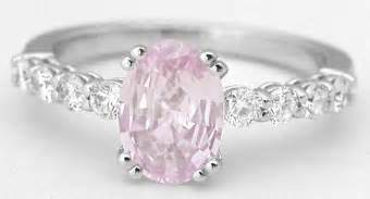light pink sapphire engagement rings light pink sapphire engagement ring in 14k white gold gr 5911