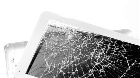crack  tablet screen bt