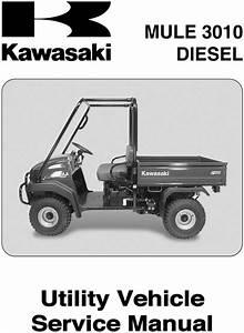 2003 2004 Kawasaki Mule 3010 Diesel Kaf950