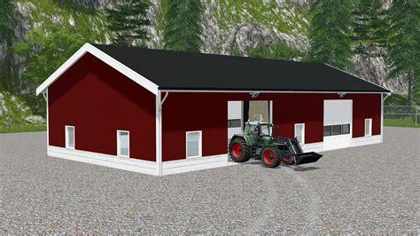Garage Farm by Nordic Farm Buildings V1 0 Mod Farming Simulator 2017 Fs