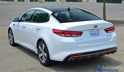 2016 Kia Optima Reliability by 2016 Kia Optima Sx Turbo Review Test Drive